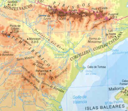 Sierra De Javalambre Mapa.Valdelinares Mosqueruela Cantavieja Explo Iberodorcadion